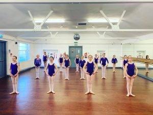Children Ballet Practice